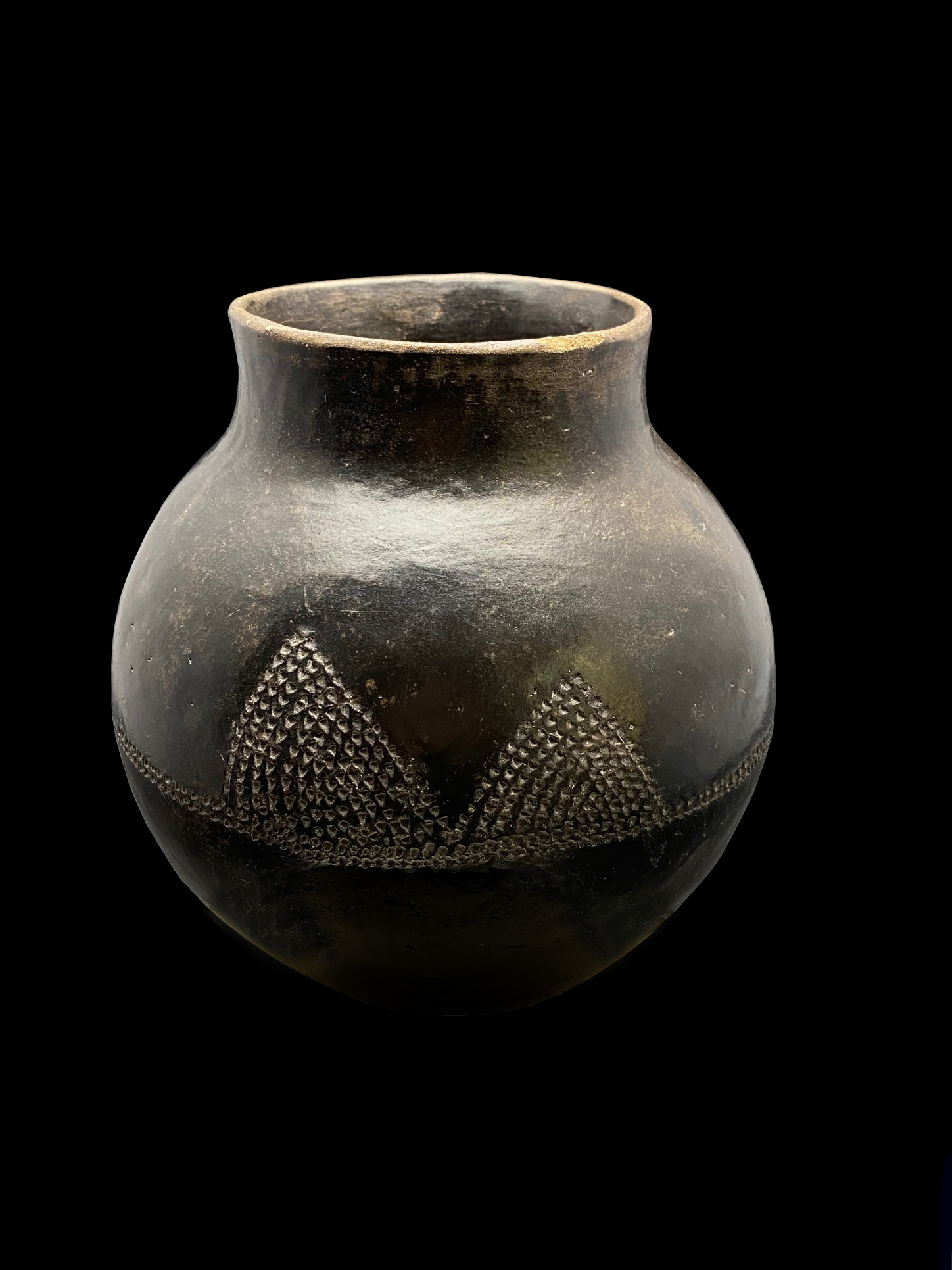 Clay Beer Pot - Zulu People, South Africa