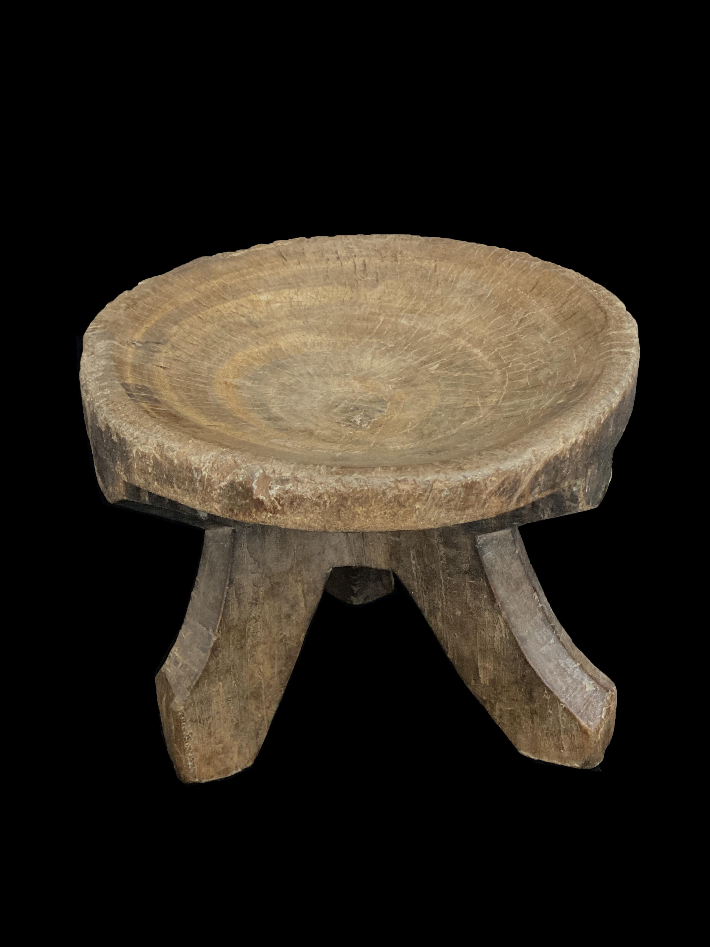 Wooden Stool - Hehe People, Tanzania