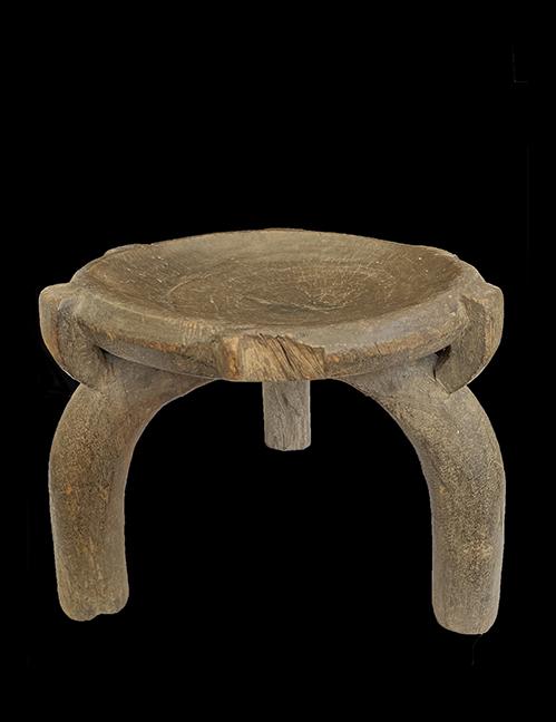 Wooden Stool - Kami, Hehe or Zaramo People, Tanzania