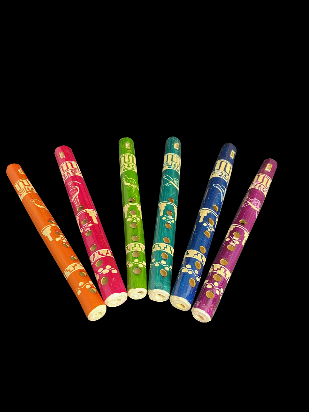 Bamboo Flute/ Recorder - Guatemala