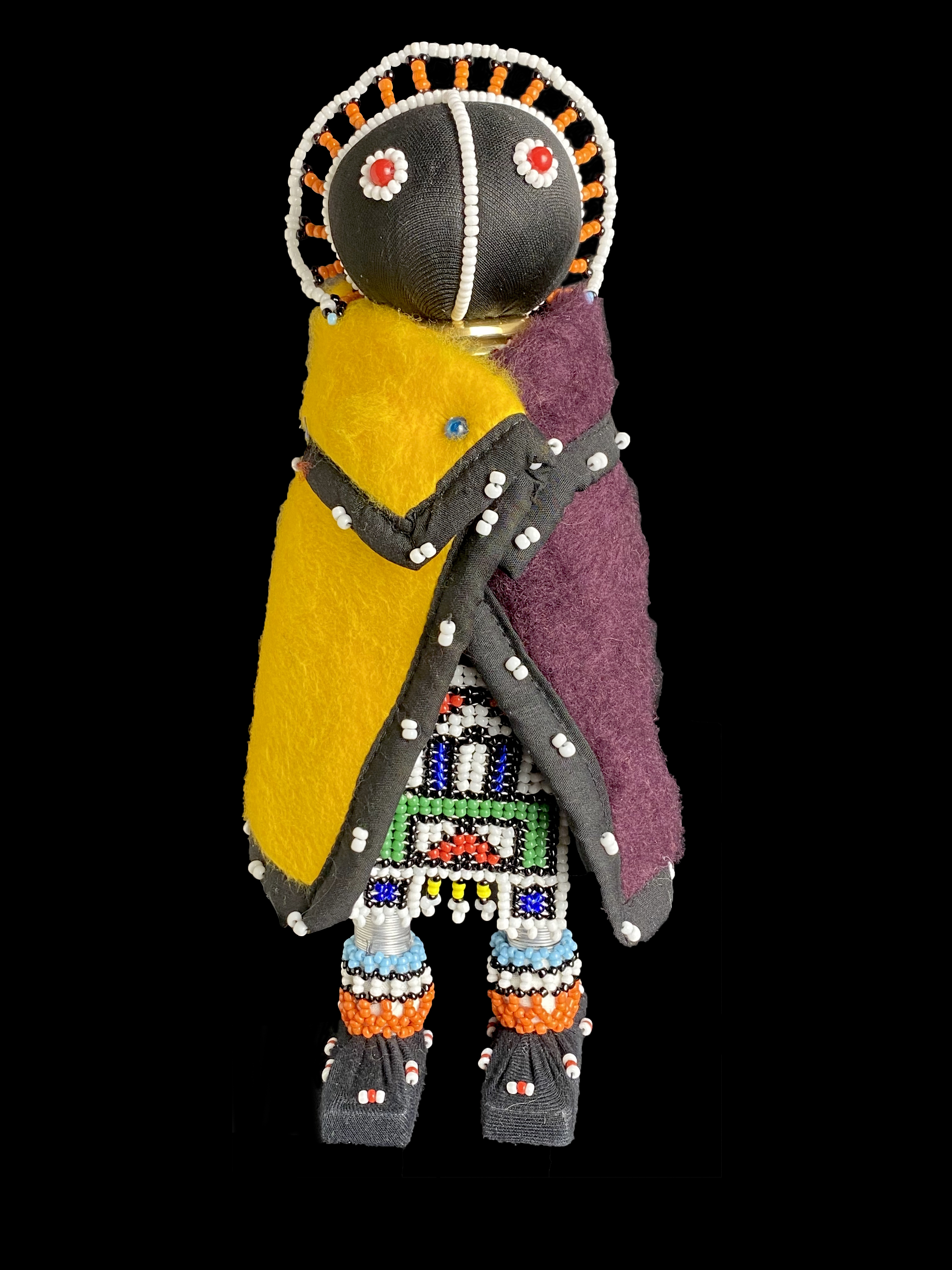 Short Initiation Doll - Ndebele People, South Africa