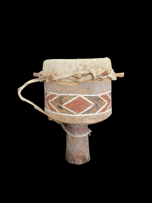 Ceremonial Drum - Tonga People, Zimbabwe