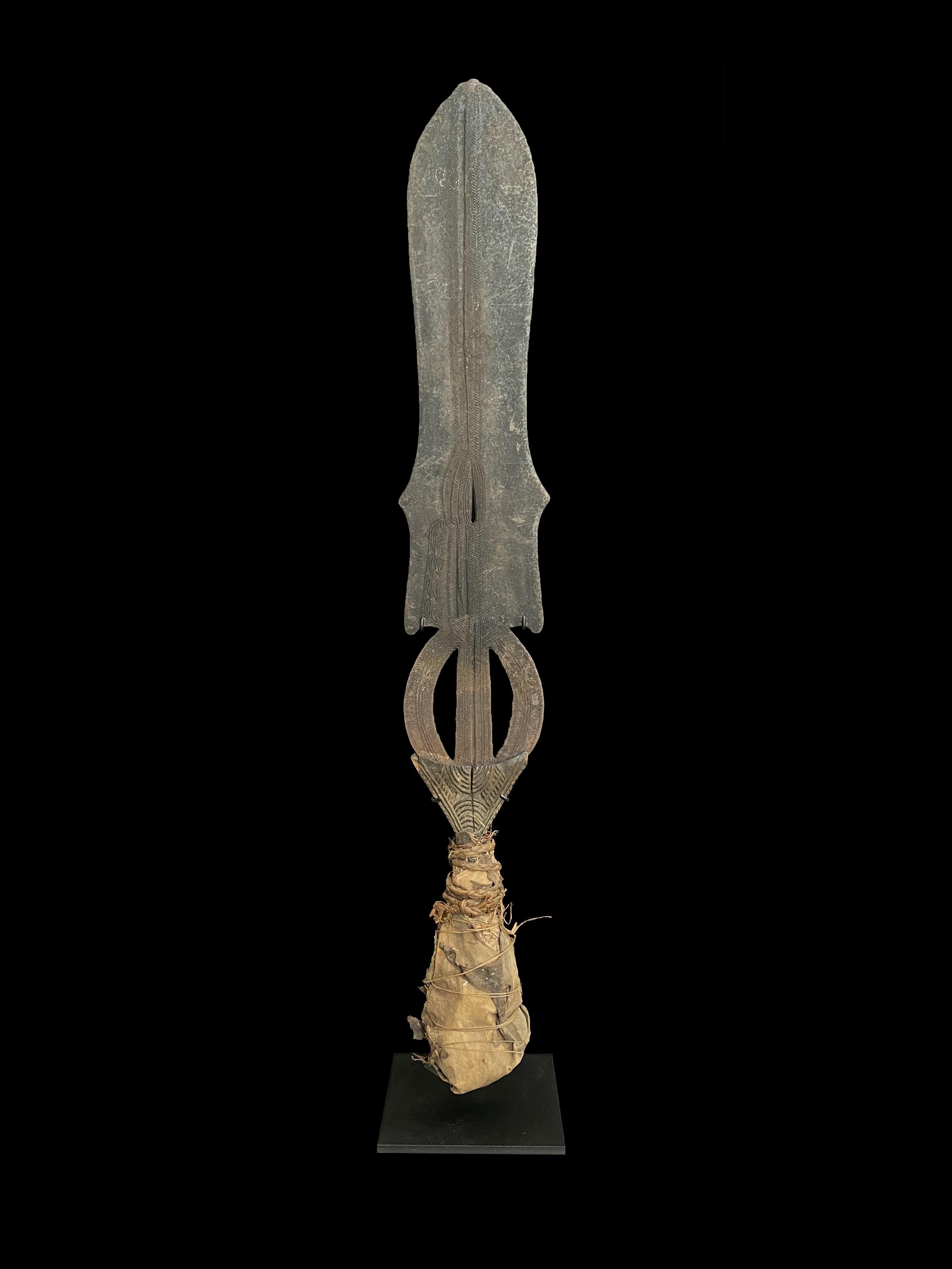 Ceremonial Sword - Ngombe, Doko, Poto and Mongo Peoples, D.R. Congo
