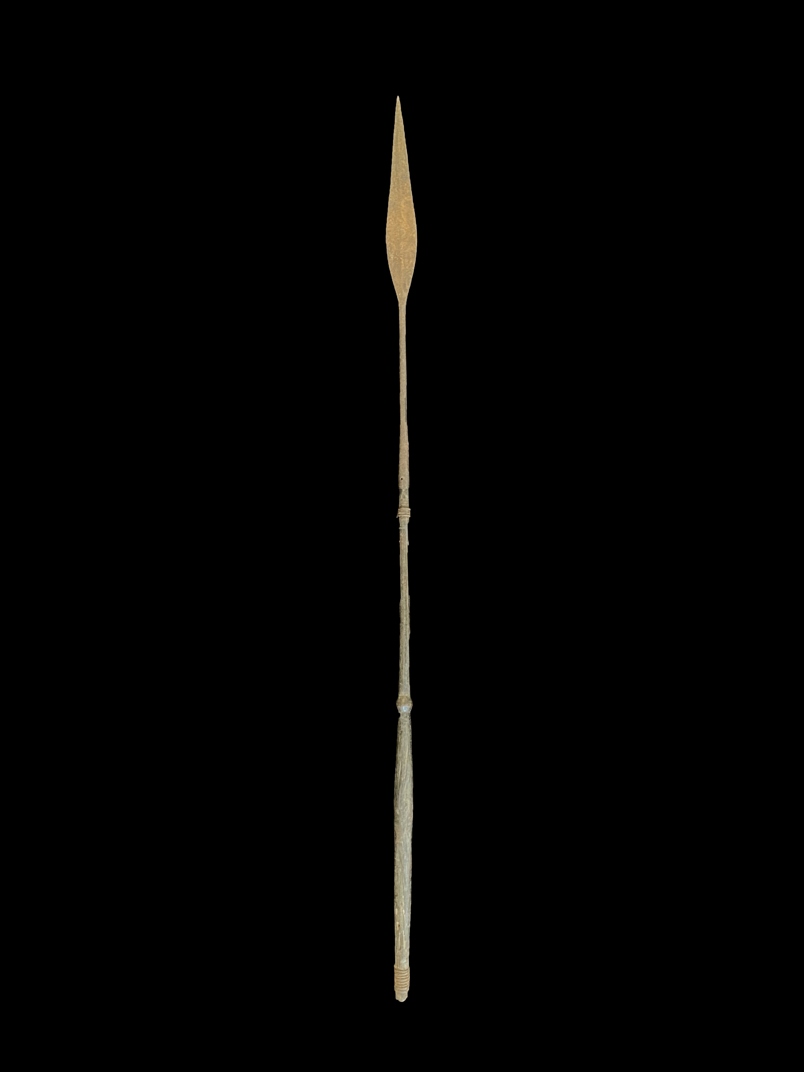 Ceremonial Spear - Kuba People, D.R. Congo (c)
