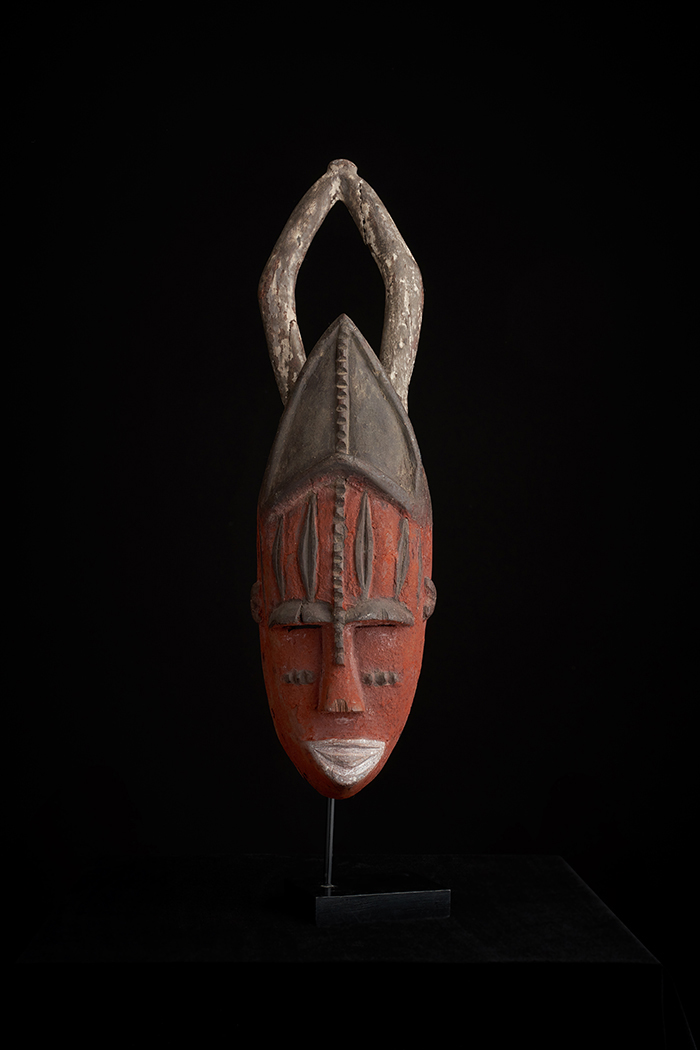 Wood and Pigment Mask - Urhobo People, Nigeria CGM4