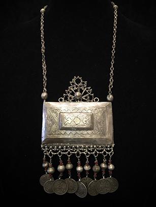 Prayer Box Necklace -Tashkent people, Uzbekistan (#BR39) - Please contact us for availability