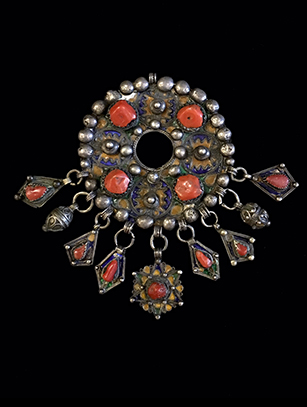 'Tabzimt' Pectoral Pendant - Kabyle/Berber People, Northern Algeria (BR176)
