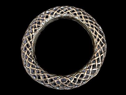 Bronze Bracelet (#2) - Tikar People, Cameroon