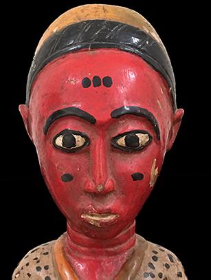 Colonial Figure - Baule People, Ivory Coast - SOLD