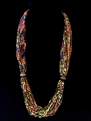 Beaded Necklace - Naga People, India (#BR95) - Please contact us for availability