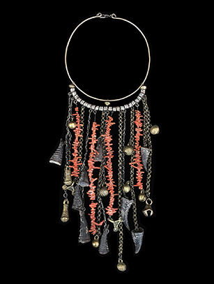 Coral and Claw Necklace - North Africa