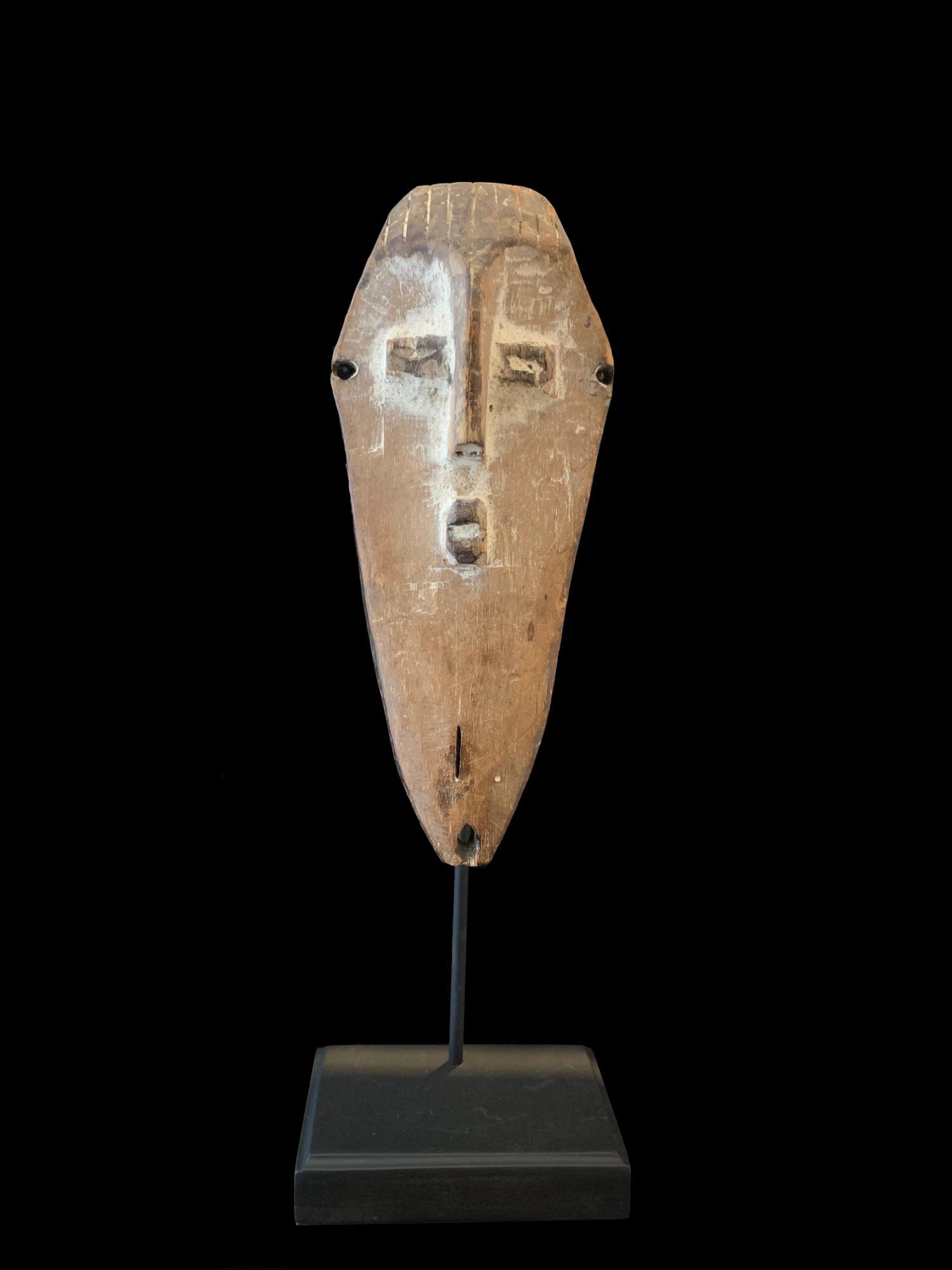 Miniature Mask - Lega People, D.R.Congo (PC64)