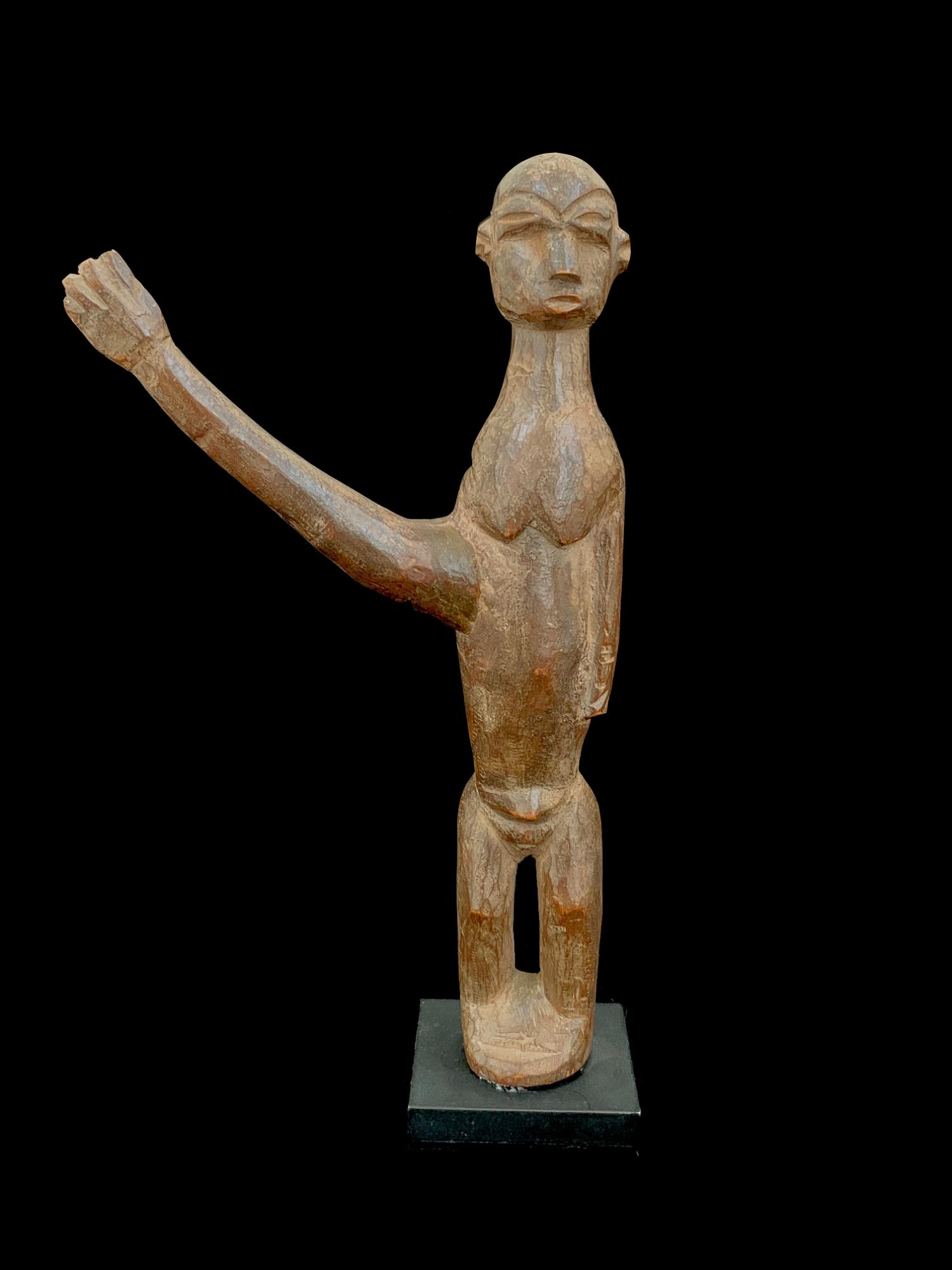 Bateba Figure with Outstretched Arm - Lobi, Burkina Faso (JL38)
