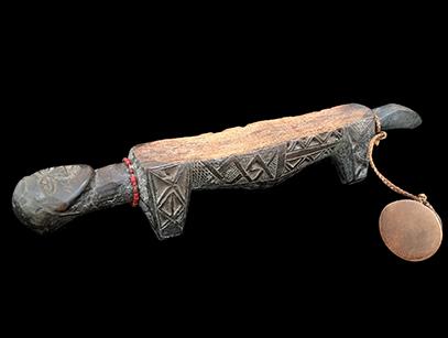 Kuba Divination Rubbing Oracle - D.R. Congo