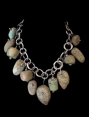 Pre-Columbian Greenstone Necklace (HM35)