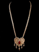 HeartShapedTurkmenNecklaceBR265.th