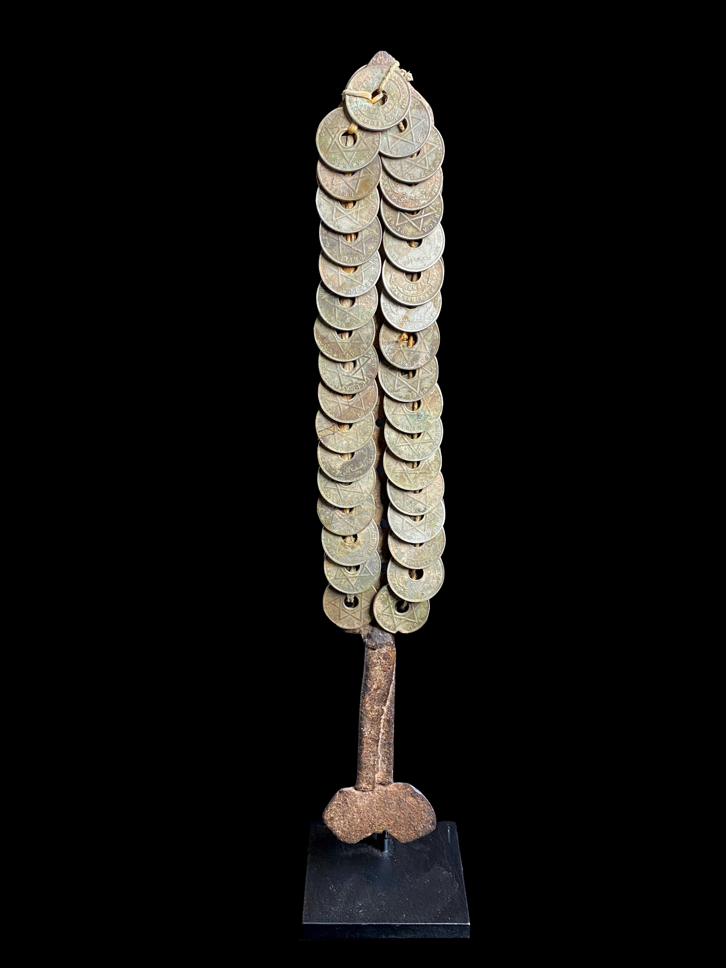 Wedding dance stick - Money tree currency - Yoruba People, Nigeria