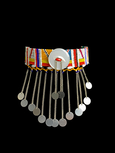Maasai Beaded Choker - From the Angela Fisher Africa Adorned Collection