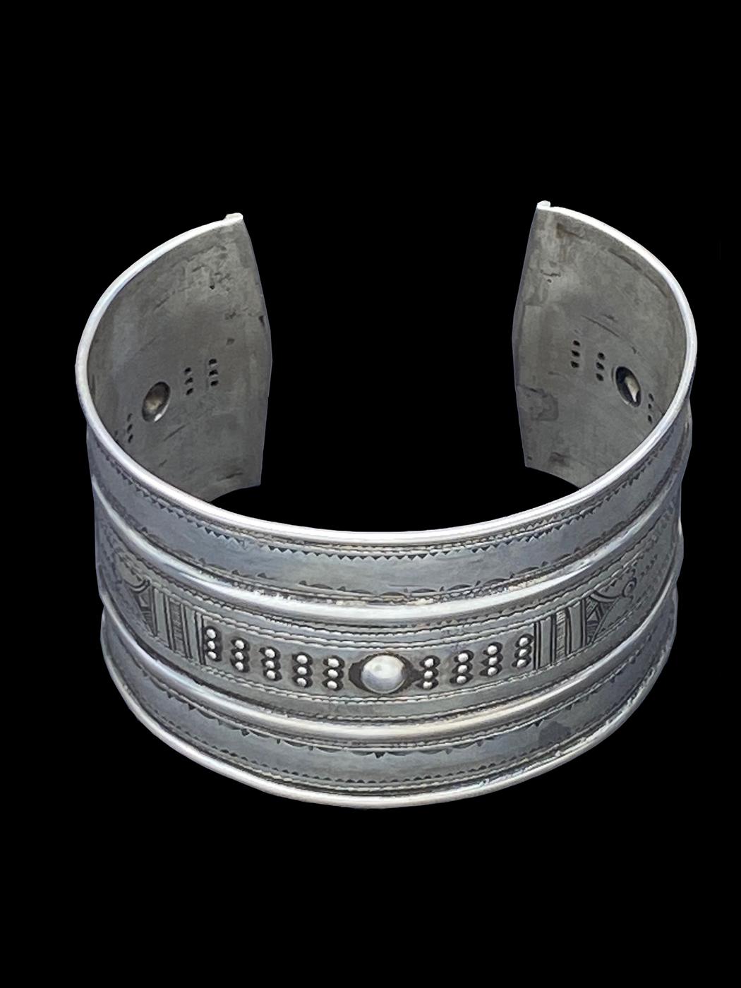 Tuareg Sterling Silver Cuff Bracelet