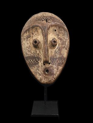 Mask - Lega People, D.R. Congo