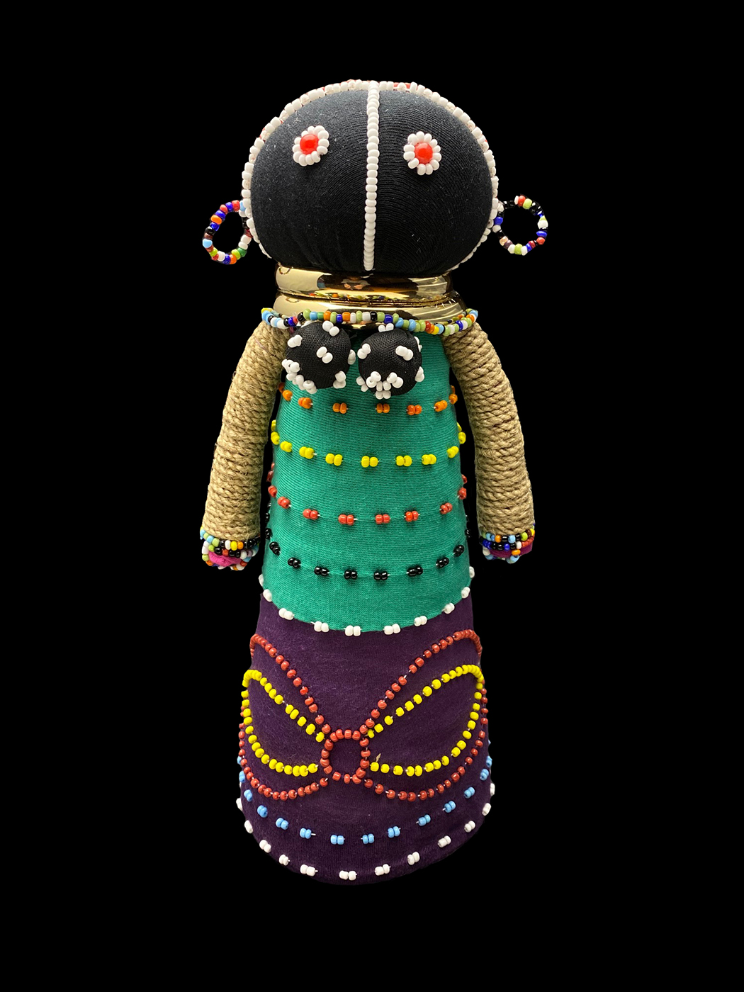 Ceremonial Courtship  Doll - Ndebele people, South Africa