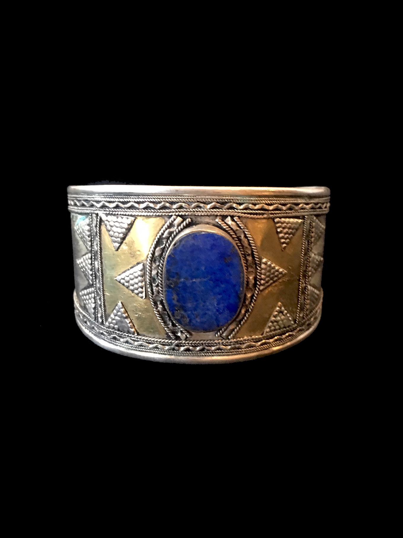 Lapis Lazuli Cuff (#3) - Central Asia