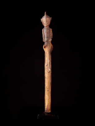 Lobi Divination Staff, Burkina Faso (0270)