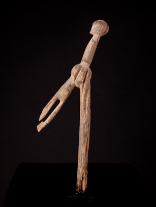Lobi Divination Staff, Burkina Faso (0283)