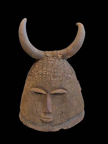 Rare Bolo Helmet Mask - Bobo (Vinhyama), Burkina Faso (Please inquire for price)