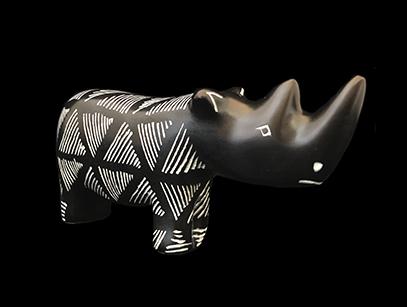 Soapstone Rhino - Kenya (Temporarily unavailable)