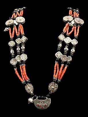 Old Wedding Necklace - Tajiks, Republic of Tajikistan - Sold