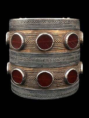 'Bilezek' Cuff (#2) - Tekke people, Turkmenistan (Central Asia)