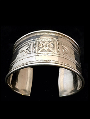 Tuareg Sterling Silver Bracelet #4 - Sold - Other styles available - please inquire