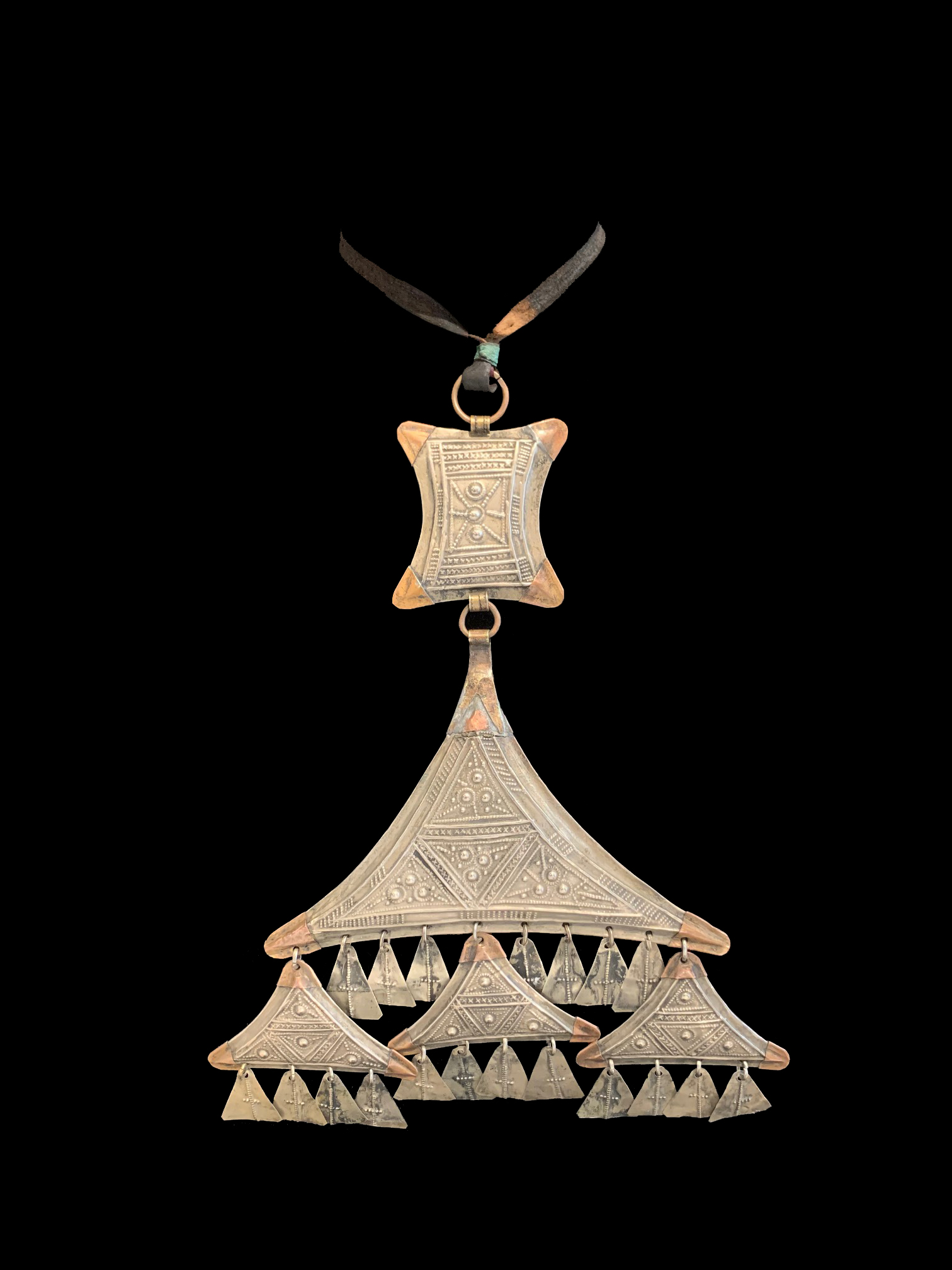 Teraout, a Chest Ornament from the Tuareg Nomads of the South Sahara