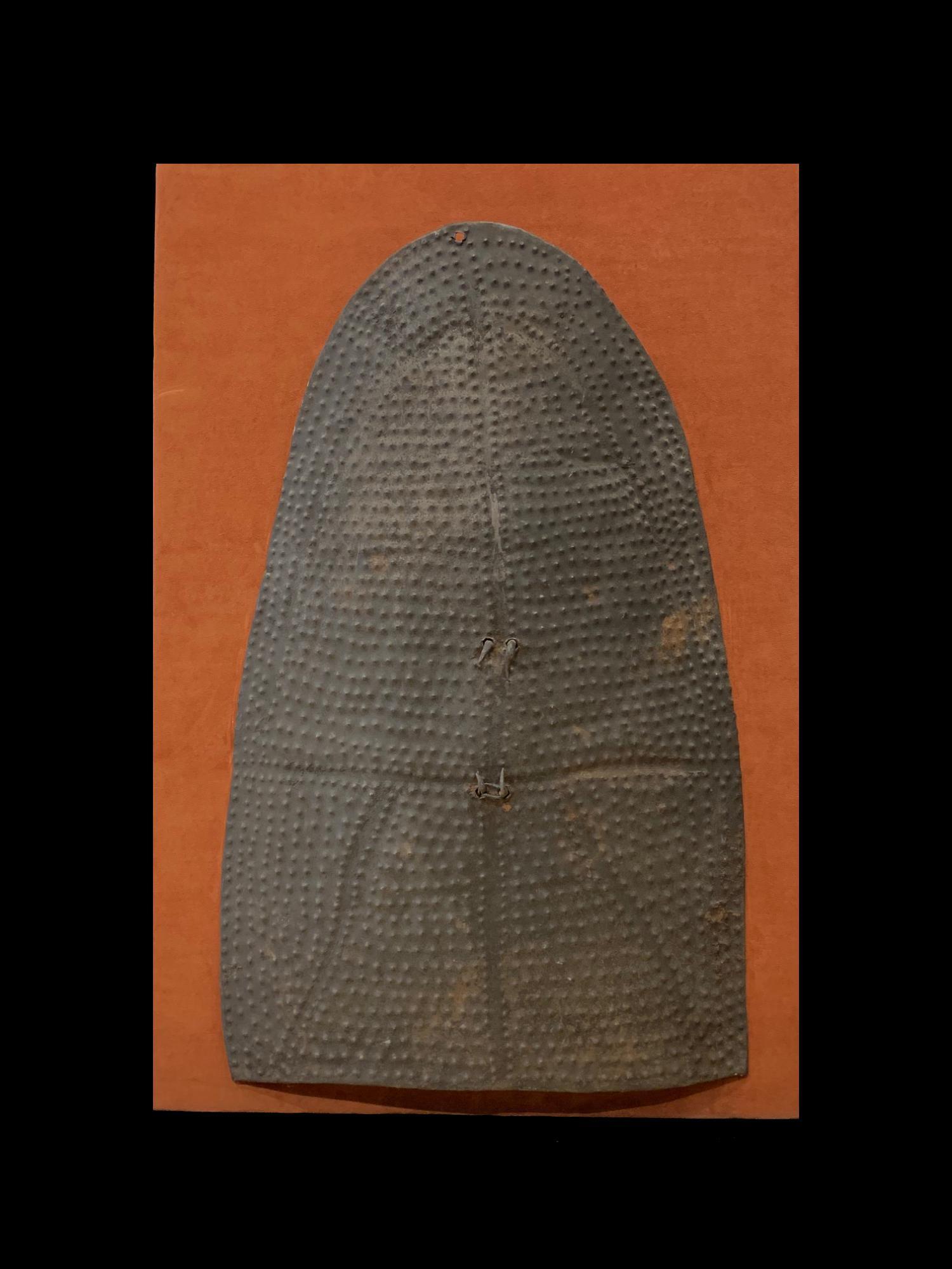 Metal/Iron Shield - Kirdi People, Cameroon