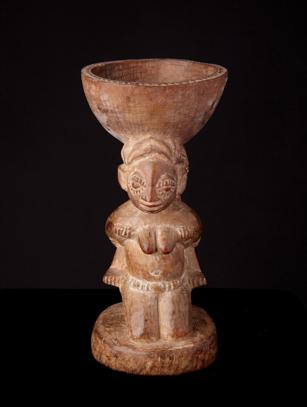 Yoruba Divination Bowl - Nigeria (0273)
