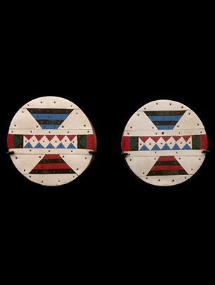 'Iziqhaza' Ear Plugs - Zulu People, South Africa (C)