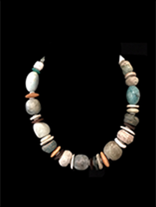 Mixed Bead Necklace by Holly Masterson - HM205