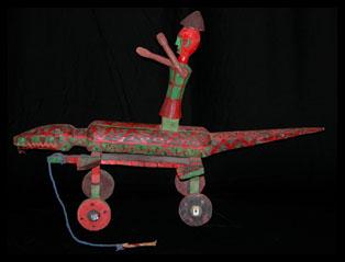 Wheeled Marionette - Bozo People, Mali
