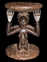 Hemba Stool - D.R. Congo - www.africaandbeyond.com