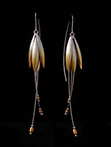 Jewelry Earrings lotus flower gold LONG 6.th.jpg