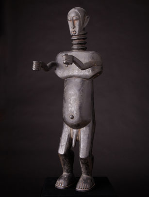 Ancestor Figure - Kulango or Fanti People - Ivory Coast/Ghana - Call for price