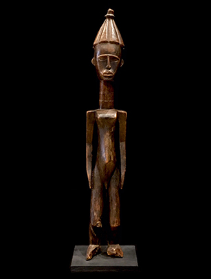 Ancestral Figure - Kulango People, Bondoukou Region, Ivory Coast
