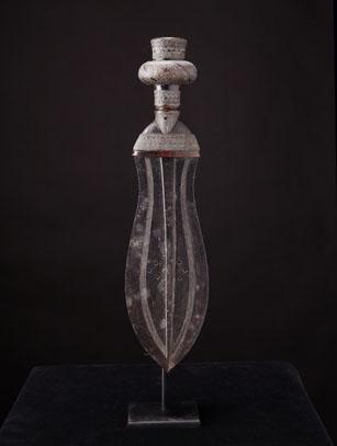 Ikula Knife - Kuba People - D.R. Congo (LS116)