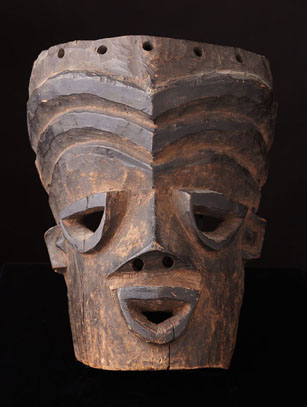 Idiok Mask - Ibibio People, Nigeria (LS6)
