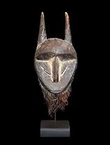 Lega Miniature Passport Mask from D.R. Congo