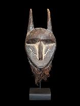 Lega Miniature Passport Mask from D.R. Congo