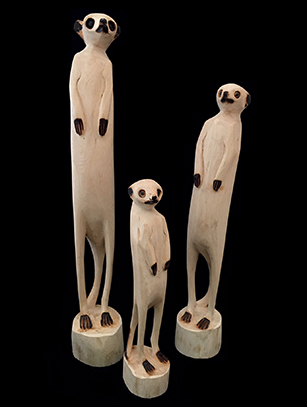 Meerkat - Zimbabwe - Sold Separately (Medium and Large Sizes)