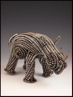 Lathe Rhino - Zimbabwe - SOLD