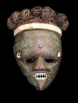 Sala Mpasu Mask from D.R. Congo